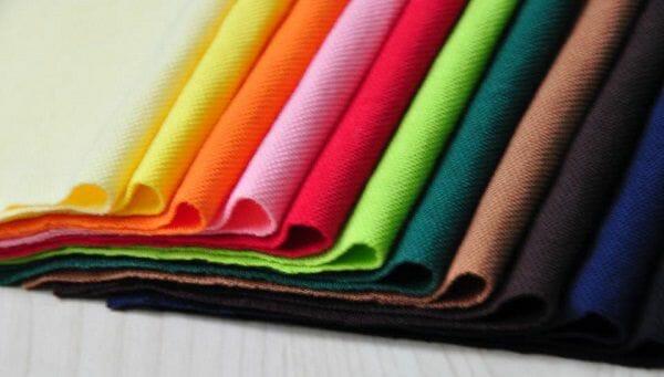 vải cotton may áo thun đồng phục