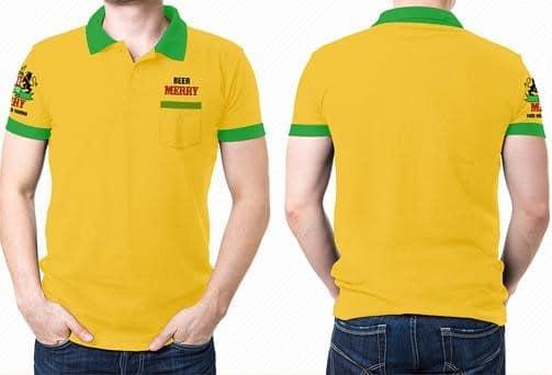 Áo thun đồng phục thể thao có form áo trẻ trung