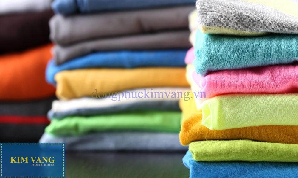 Bí quyết chọn vải cotton may áo thun cổ tròn đẹp