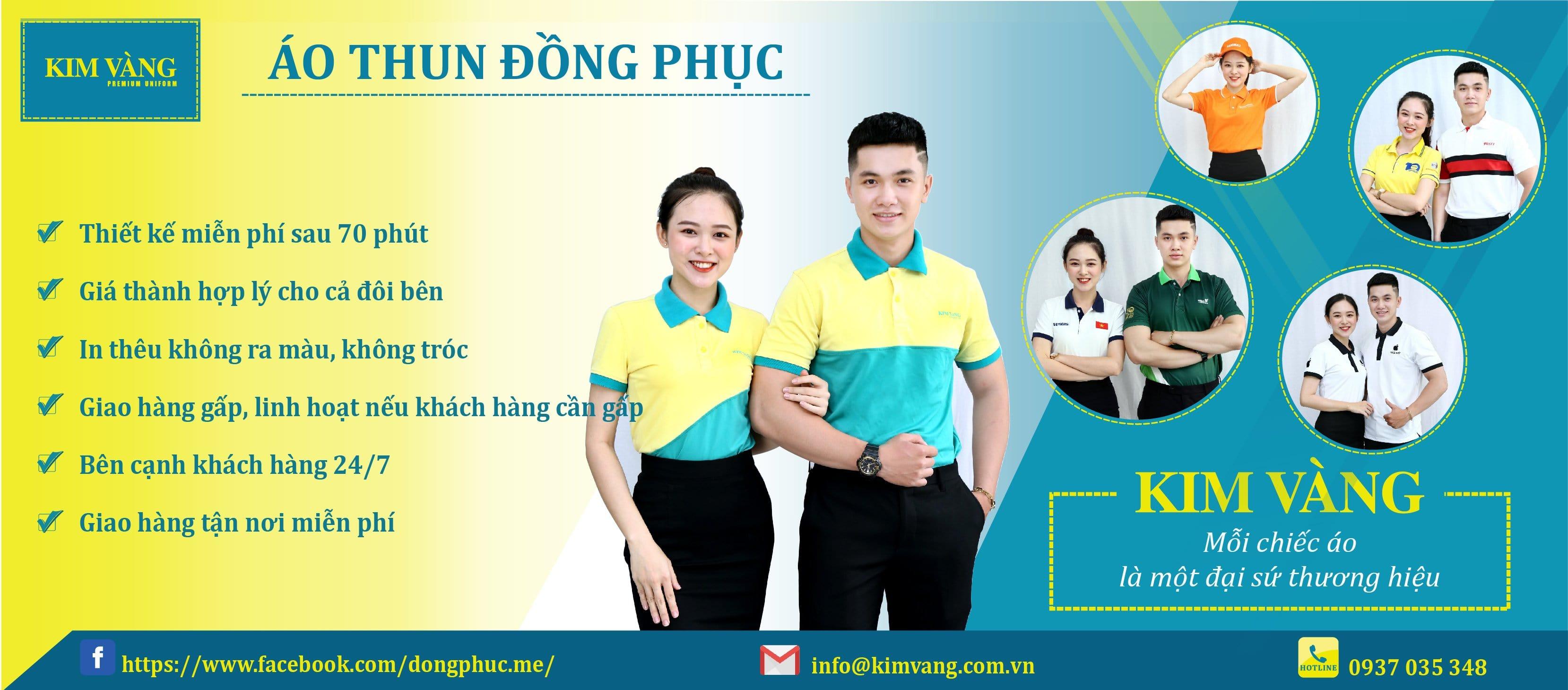 Banner Đồng Phục Áo Thun