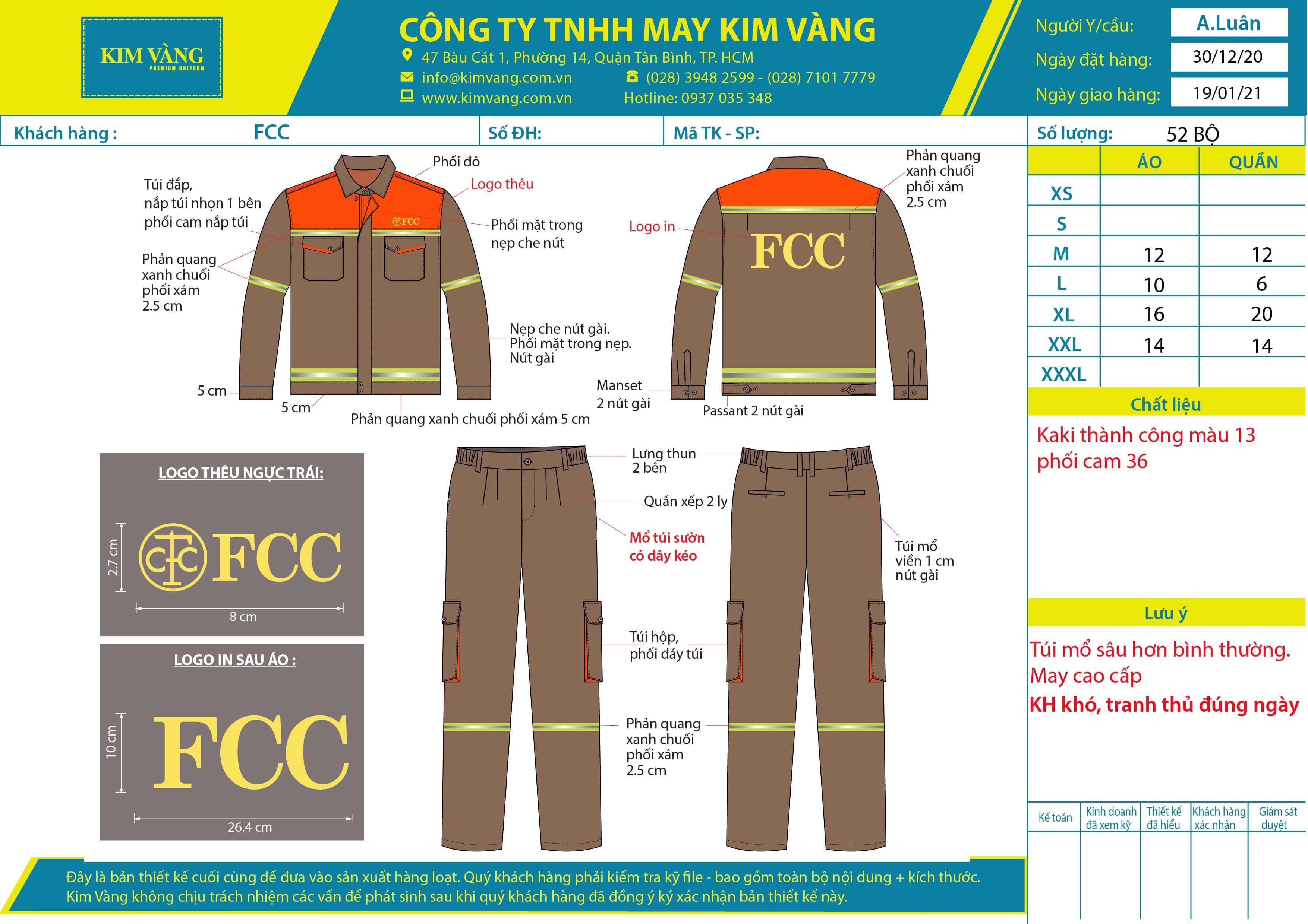 Đâu Mới Là Xưởng May Đồng Phục Bảo Hộ Chất Lượng Tại TPHCM?